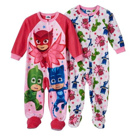 Pj Pj Pajamas disney pj mask owlette pajamas blanket sleeper size 2t 3t