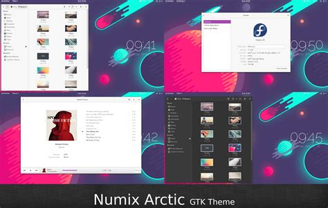 gnome themes numix numix arctic by malisremac on deviantart