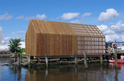 building a boat house the kebony boat house openbuildings