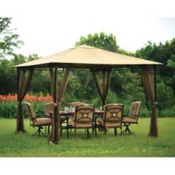 patio canopies and gazebos living accents 10ft x 10ft gazebo netting gazebo sold