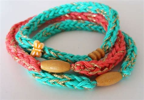 how to knit a friendship bracelet 17 best images about handmade jewelry on