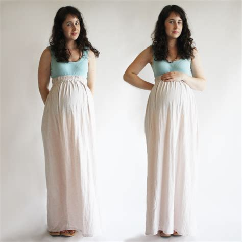 maxi skirt maternity crafts