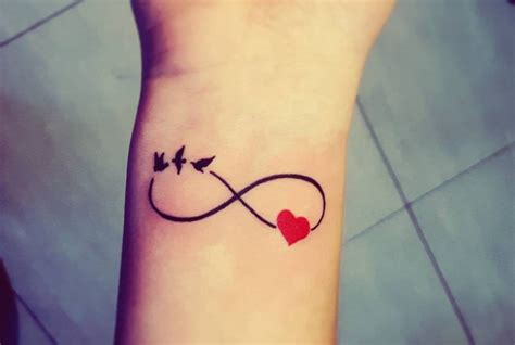 images of small heart tattoos small infinity ideas pictures to pin on