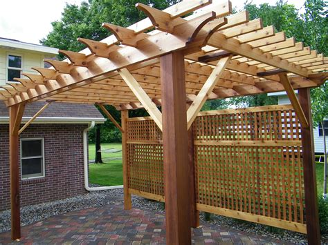 customer pergola photos of fiberglass vinyl cpvc