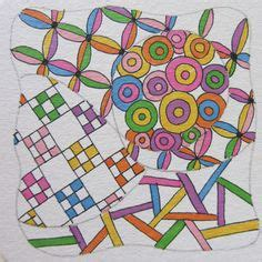 doodle hill club zentangle by 6 years of zen doodle club