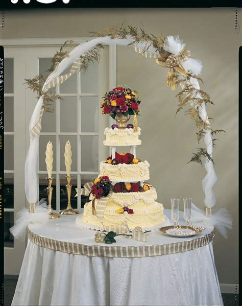 wedding cake table decoration ideas and