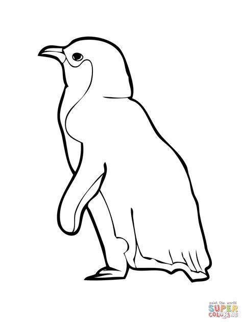 Little Penguin Coloring Page   little penguin coloring page free printable coloring pages