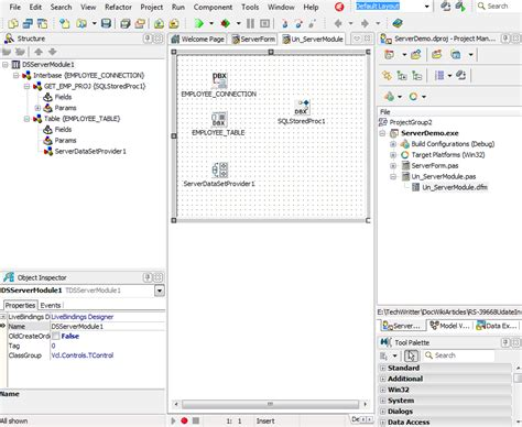 tutorial delphi datasnap creating the server side with datasnap server interbase