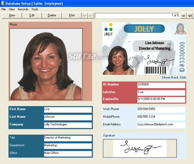 id design maker id flow id badge maker software free download for