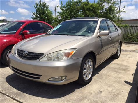 2004 toyota camry for sale houston, tx carsforsale.com