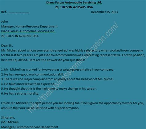 Inquiry Letter Personal Semple Of Reply Letter To Personal Status Inquiry Letter