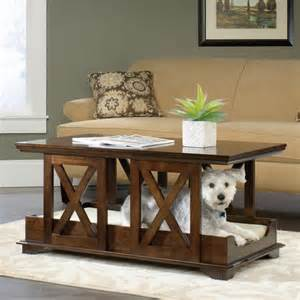 coffee table bed sauder coffee table pet bed 417195 contemporary