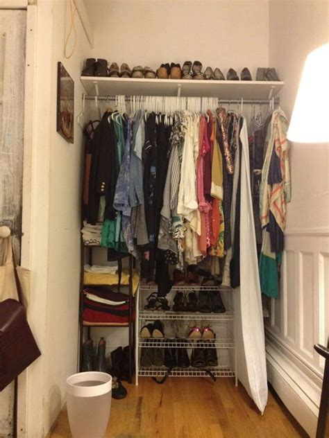 how i turned an awkward alcove into a to die for closet