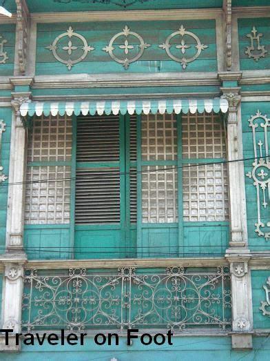 ornate philippine house  capiz pounded shell windows