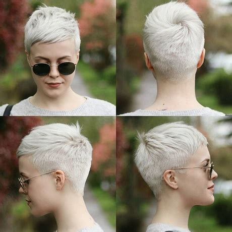 super short hairstyles 2018