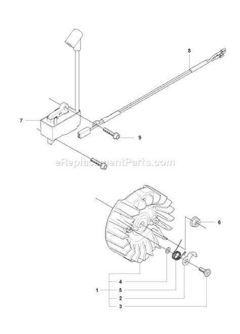 husqvarna 445 chainsaw parts diagram husqvarna 445 parts list and diagram 2007 09