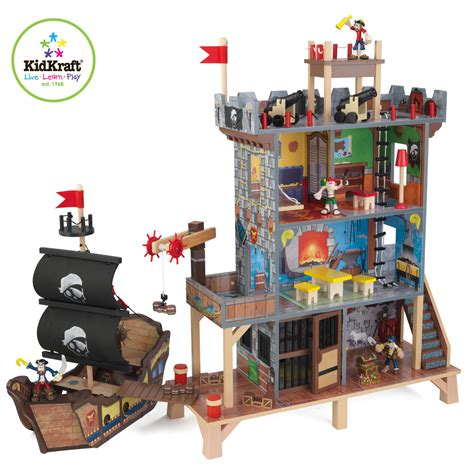 kid craft toys kidkraft pirate s cove play set 63284