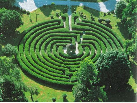 Labyrinth Garden by The Sacred Spiral Labyrinths And The Path Towards Wholeness