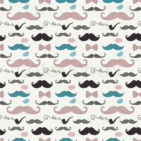 Colorful Mustache Wallpapers