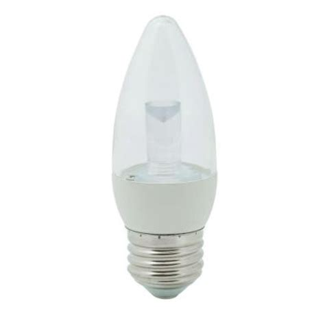 ecosmart light bulbs warranty ecosmart 40w equivalent soft white 2700k b11 clear blunt