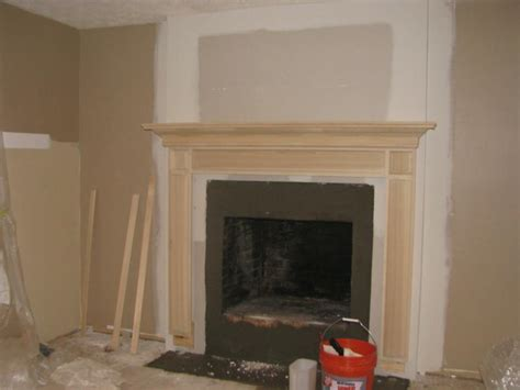 Install Mantel On Brick Fireplace by Before And After Fireplace Photos Add Space And Value To
