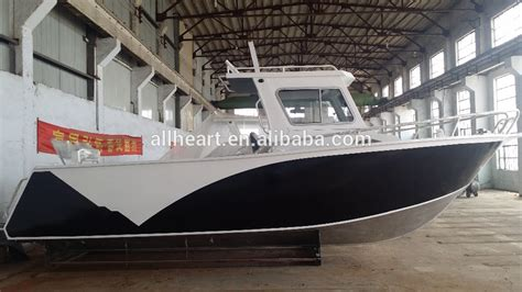 aluminum fishing boat with steering wheel aluminum boats wholesale with cabin hard top for fishing
