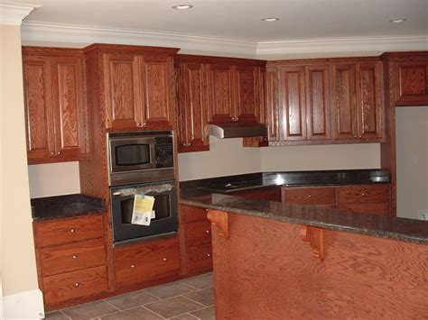Kitchen Cabinet Interior Oak Kitchen Cabinets Design Home Interior Lighting