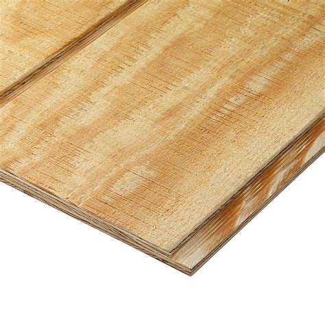 home depot paint grade plywood plytanium 6 in ooc 303 6 wood siding nominal 11 32 in