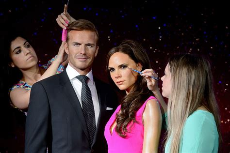 Another Bad Beckham Wax Figure by Happy Anniversary Posh Becks 15 Years Of Marriage In