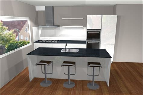 oppervlakte keuken 25 voorbeelden van een keuken met kookeiland