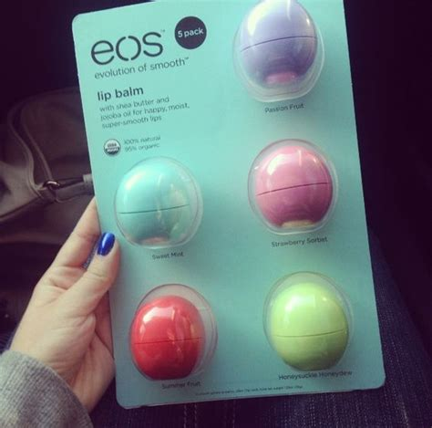 Lipgloss Eos eos lip balm stuff i like the purple eos