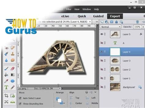 tutorial adobe photoshop elements 13 how to make and use layers in adobe photoshop elements 15