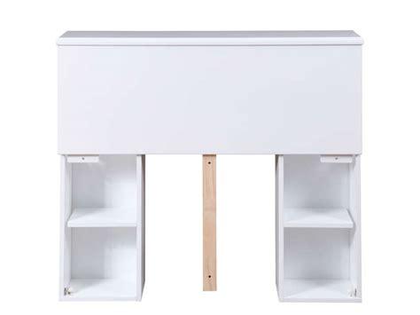 Tete De Lit Rangement 90 by T 234 Te De Lit 90 Cm Belem Coloris Blanc Vente De T 234 Te De