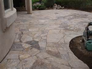 exterior cozy flagstone pavers for outdoor flooring
