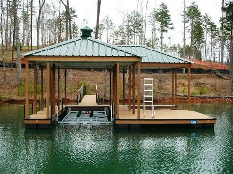 floating boat lift plans the cliffs approved dock with boat lift boat lift lake