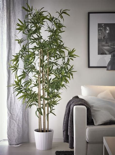 fejka kunstplant bamboe decorating ideas ikea plants