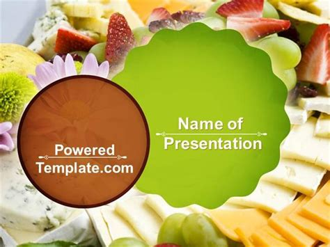 Baby Shower Food Powerpoint Template By Poweredtemplate Com Authorstream Food Powerpoint Templates