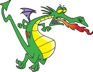 fire breathing dragon clipart clipart suggest