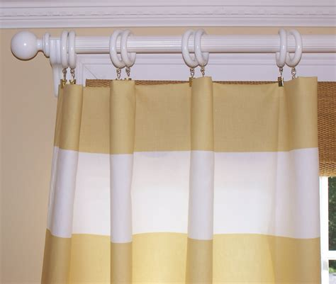 gold and cream striped curtains stripe curtains offwhite stripe custom curtain panel