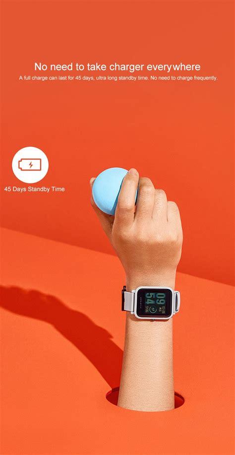 Amazfit Xiaomi Smartwatch Original Huami Version International original xiaomi huami amazfit bip lite version smart international version ebay
