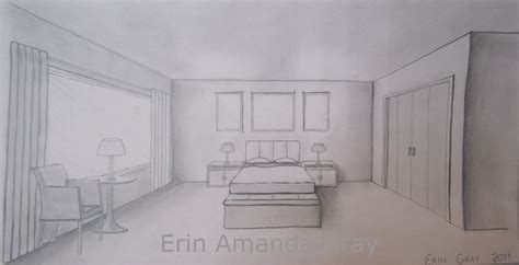 one point perspective bedroom drawings one point perspective bedroom www imgkid com the image