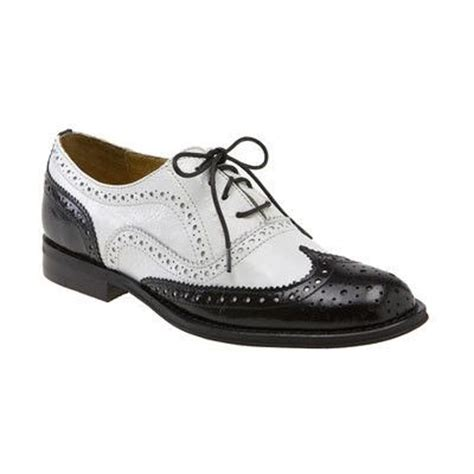 black and white oxford shoes vintage inspired shoes