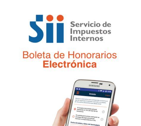 textos legales y reglamentos servicio de impuestos internos 191 c 243 mo funciona la nueva app e boleta boleta de honorarios