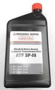 Mitsubishi Atf Sp Iii Genuine Mitsubishi Spiii Sp3 Kia Transmission Fluid Atf 5