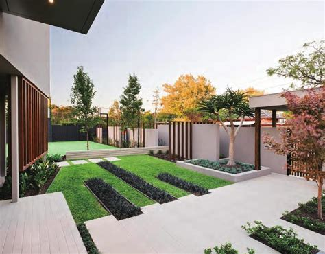 home design ideas decorating gardening minimalist garden design for elegant house garage home