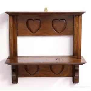 Antique On A Shelf by Arts Crafts Oak Shelf Antiques Atlas