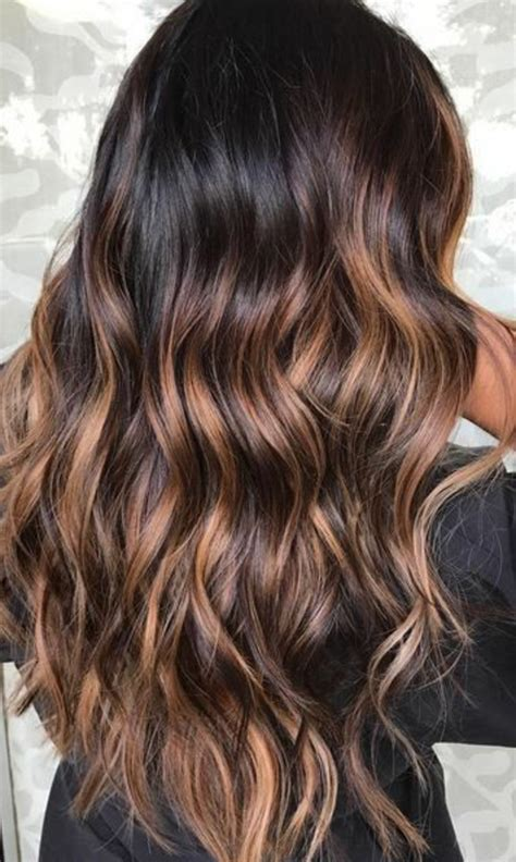 cheveux long balayage balayage naturel cheveux long