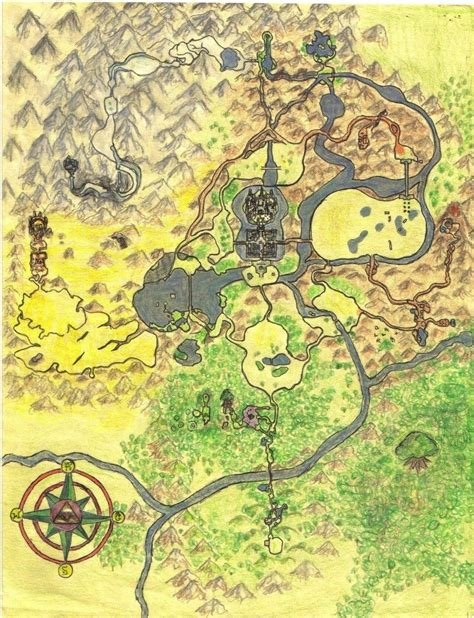 legend of zelda map of hyrule map of greater hyrule by cknightsofni on deviantart