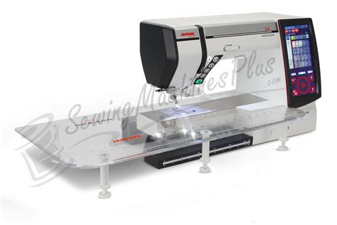 Professional Quilting Machine by Janome Memory Craft Horizon Mc12000 Professional Sewing