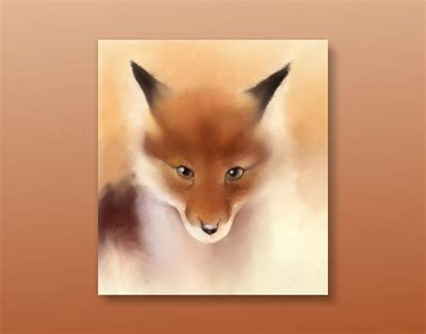 red fox pastel sketch on strathmore 8 in x 12 in